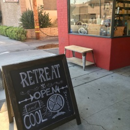 Retreat - open daily at 950 Mission Street South Pasadena, CA 91030 (right across from the Gold Line stop)